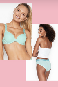 Комплект нижнего белья The T-Shirt Push-Up Full Coverage Bra Victoria`s Secret