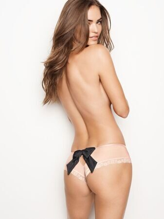 Трусики Bow-back Cheeky Victoria`s Secret