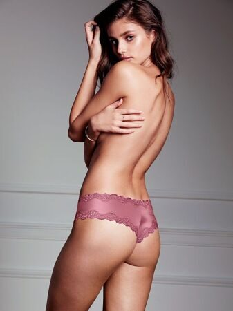 Трусики Cheeky Lace-trim Victoria`s Secret