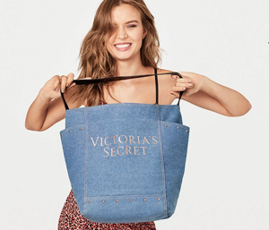 Сумка Denim Tote Victoria`s Secret