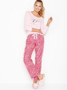 Пижама хлопковая The Lounge PJ Victoria's Secret