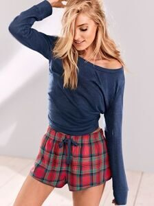 Пижама The Flannel Short Set Victoria's Secret